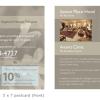 AVANTI MASSAGE - 5x7 postcard