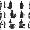 Liquor bottle - Illustrations